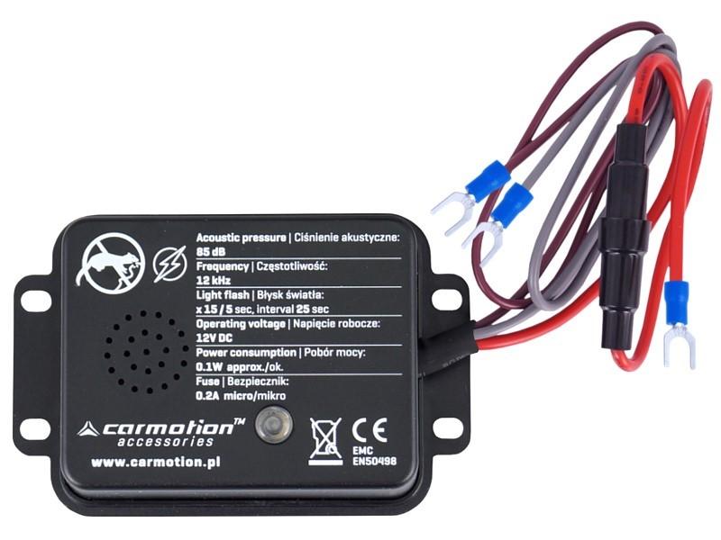 Samochodowy Odstraszacz Gryzoni Akustyczny I Błyskowy 12v Platforma Carmotion Pl